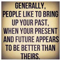 Speaking in generalities...