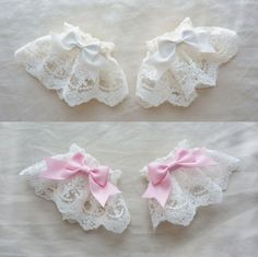 Classique poignets dentelle guirlande Pansy lot 2 Ribbon Hair Bows, Diy Hair Bows, Diy Ribbon, Ribbon Work, Baby Girl Headbands, Baby Bows, Bow Pattern, Boutique Hair Bows, Diy Hair Accessories