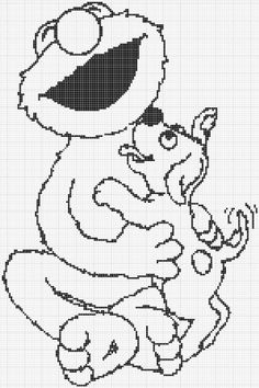 Coloring Pages Elmo And Cookie Monster Trend