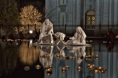 Nativity at the temple