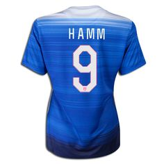9c91ea69a69 2015 FIFA Women s World Cup USA Mia Hamm 9 Women Away Soccer Jersey Usa  National Team