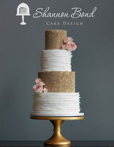 Shannon Bond Cake Design   Kansas City wedding and custom cakes   Wedding Cakes