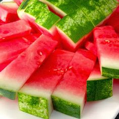 Cookin' And Kickin': How To Cut Watermelon Sticks