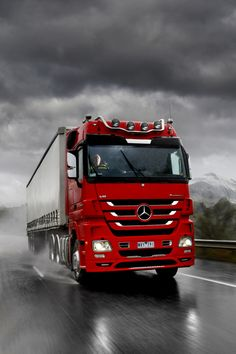 Mercedes Truck by Chris Sorgsepp on Mercedes Benz Maybach, Mercedes Benz Trucks, Volvo Trucks, Mercedes Benz Logo, Big Rig Trucks, New Trucks, Cool Trucks, Truck Dispatcher, Mobile Marketing