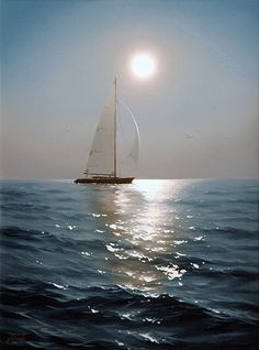 Calm waters...