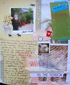 christmas 2013 art journal smash book InSpiRaTions ScraP: DecemBer Daily