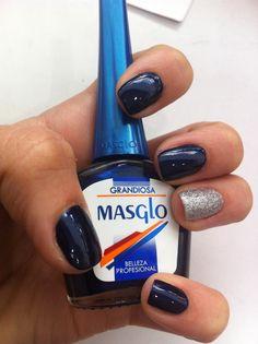 Grandiosa con Masglo Nail Polish, Nails, Drink, Beauty, Food, Nail Polish Colors, Beauty Tips, Cute Nails, Hair And Beauty