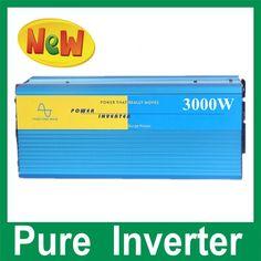 3000W reiner Sinus-Wellen-Konverter  DC24v dc to ac pure sine wave inverter 3000w , power inverter converter #Affiliate