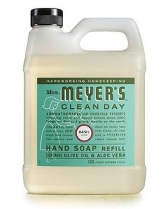 """Promising review: """"I am very picky and usually very sensitive to many fragrances, natural or not, but I have no irritations with Mrs. Meyer's products. The best part is I keep catching myself wondering what that great smell is, and it is my hands even long after I wash them with this."""" —CandiGet it from Amazon for $6.64."""