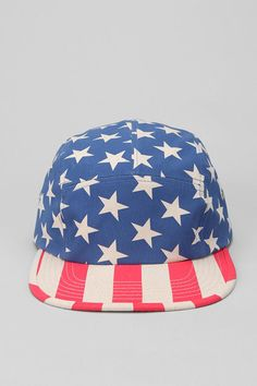 Urban Outfitters - Americana 5-Panel Hat Indie Clothing Brands 5aaa2a6135a4