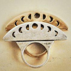 Pamela Love Luna Phase Ring in Silver or Bronze. Smycken Tillbehör abf027f470123