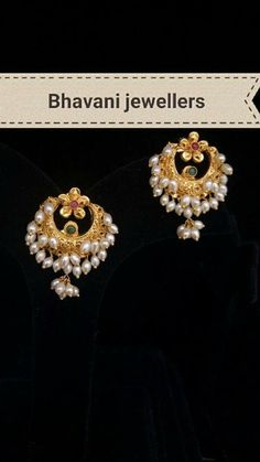 Alex and Ani Archives - Top Drawer Jewelry Gold Jhumka Earrings, Gold Earrings Designs, Indian Earrings, Gold Jewellery Design, Necklace Designs, Indian Jewelry, Gold Pendent, Traditional Earrings, Beaded Jewelry