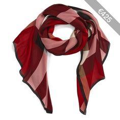 Women's Burberry Mega Check Silk Scarf