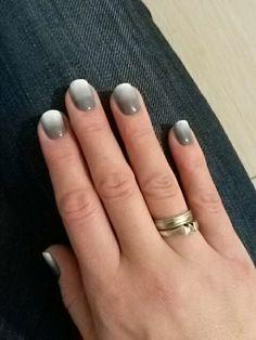 white/grey ombre