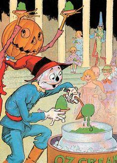 Jack Pumpkinhead and Scarecrow | Storybook Classics Art Prints
