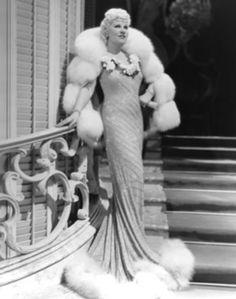 Mae West in Travis Banton gown