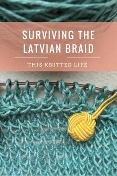 I survived the Latvian Braid. You can too! It's not as tricky as it looks.