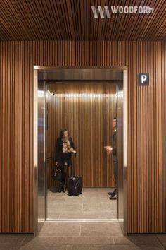 Elevator Lobby Design, Stair Elevator, Atrium Design, Facade Design, Lift Design, Design Design, House Design, Lobby Interior, Interior Design