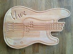 Brotzeitbrett E-Bass