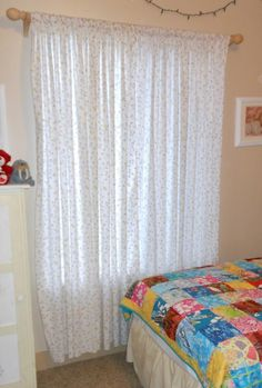Bedroom Curtain Ideas to Set the Air and Light Inside: Amazing Bedroom Curtain…