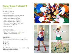 Amazing Sailor fuku tutorial