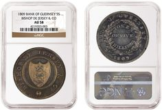 NGC Certifies Extremely Rare 1809 Bank of Guernsey 5 Shilling - Coin Community Forum