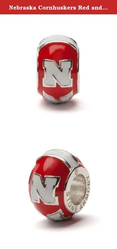 Nebraska Cornhuskers Red and White N Bead Charm - Fits Pandora. Add this Huskers bead charm to your game day gear! Made of stainless steel and will not rust or tarnish. Lifetime guarantee! Officially licensed by UNL. Ships with in 24 business hours from Cleveland, OH.
