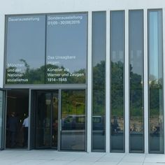 The Munich Documentation Centre for the History of National Socialism opened its doors to the public on May 1, 2015.