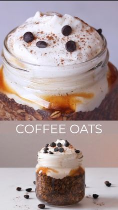This recipe for coffee overnight oats is a simple breakfast to prepare, is easily adaptable into a takeaway format and it's perfect to add to your Meal Plan or Batch Cooking. For a gluten-free version, you only need to use gluten-free oats and for a vegan version, it is sufficient to substitute yogurt with soy yogurt. #healthy breakfast #coffee recipe #healthy eating #healthy recipe #overnight oats #coffee oats #easy recipe #clean eating #clean breakfast #nourishing food #healthy lifestyle Clean Eating Desserts, Clean Eating Breakfast, Simple Breakfast Recipes, Eating Clean, Healthy Treats, Healthy Desserts, Healthy Food Substitutes, Simple Healthy Snacks, Eating Healthy