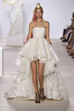 Les robes de mariée vues sur les podiums | Mode