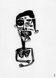 Some of this drawings are available in Artevistas Gallery Complete Black Ink drawing series here https:& Ink Illustrations, Illustration Art, Basquiat Paintings, Surealism Art, Black Ink Art, Trash Art, Surreal Art, Art Sketchbook, Dark Art