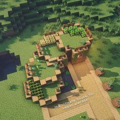 Minecraft Farmen, Construction Minecraft, Minecraft Welten, Cute Minecraft Houses, Minecraft Houses Blueprints, Amazing Minecraft, Minecraft House Designs, Minecraft Survival, Minecraft Tutorial