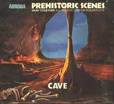 Cave  Aurora Prehistoric Scenes