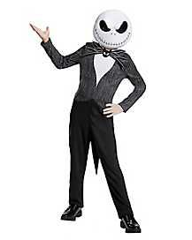 Jack Skellington Child Classic Nightmare Before Christmas Disney Costume, Product includes: jumpsuit with attached coat tails, detachable bow and half mask. Nightmare before christmas (disney). Theme Halloween, Boy Costumes, Disney Costumes, Christmas Costumes, Halloween Costumes For Kids, Costume Ideas, Halloween Town, Family Halloween, Halloween Season
