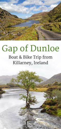 The Gap of Dunloe- Boat and Bike Trip from Killarney, Ireland (Blog post, travelyesplease.com)   #Ireland #Killarney #KillarneyNationalPark #GapofDunloe #LakesofKillarney #CountyKerry #Europe #nature