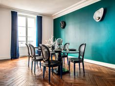 Hilary Swank's Rive Gauche Apartment | by Axel Huynh, creative director of the 150-year-old French furniture company Henryot & Cie.