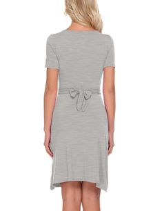 Joweechy Womens Materniy Dress Nursing Nightdress Short Sleeve Breastfeeding Nightgown