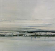Daisy Cook(British, b.1965) ripple  2005-2006 oil on canvas
