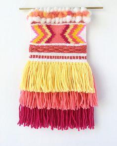 This item is ready to ship! MidnightLunaWeavings.etsy.com #wovenwallhanging #bohodecor #boholiving #walltapestry #fiberart #wallhanging #wallart #lifestyle #textileart #wovenwallart #fiberartist #shophandmade #wallhanging #tapestry #weaving #midnightlunaweavings #handwoven #etsy #handmade #shopsmall #wovenart #diy #weaver #yarnaddict #loom #yarnlove #handmade #makersgonnamake #weaverfever #tissage #textileartist