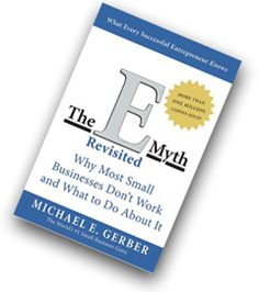 Emyth - Suggests working on your business rather than in your business...  If you're thinking about starting your own small business, or have your own business now, this is a must read book for you!  (It was for me!)