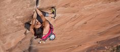 I'm Steph Davis. And I live in Moab, UT. I'm a professional climber and base jumper. This is my story.