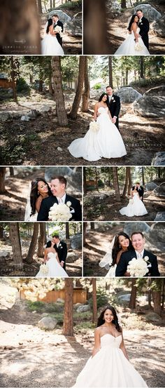 Looking for the perfect place for your destination wedding? Look no further -- South Lake Tahoe has the perfect venue for you! This couple chose The Ridge Tahoe for their dream wedding and made their special day an event to remember. #destinationwedding #Tahoewedding www.tahoeweddingsites.com