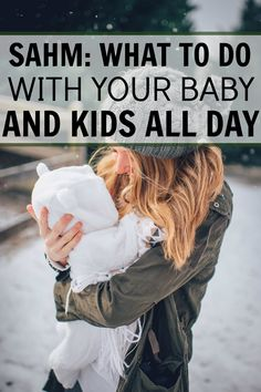 Being a SAHM is amazing but also really tough. I was going stir crazy and this list really helped me find things to do with my baby, Getting out of the house was really good for both of us! SAHM: What to do with your baby and kids all day