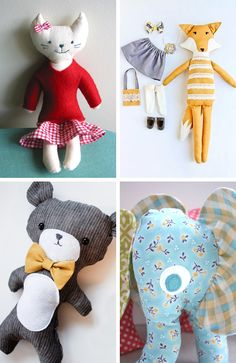 DIY Roundup – Softie Tutorials
