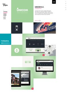 Web design and programming for UNICOM | Search engine optimization | Telegraphe Web Agency Montreal