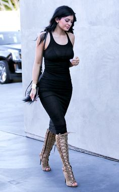 Deciframos o street style de Kylie Jenner
