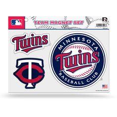 Minnesota Twins Glitter Car Magnet Sheet - $12.99