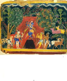 Rajasthani Paintings (In The Jagdish and Kamla Mittal Museum of Indian Art), Painting from a Dispersed Series of Tenth Book of the Bhagavata Purana. Early Rajput style, probably in Rajasthan, c. 1525 http://www.exoticindiaart.com/books-2015/nak777d.jpg