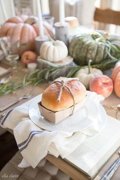 I promised I would share my mom's bread recipe from my Fall Tablescape post, and I have it for you today! My mom has made this recipe since I was a little girl and now I make it with my girl. It is so simple and delicious. We use the dough for more things than...Read More »