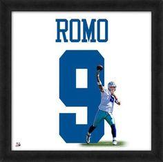 Tony Romo Framed Dallas Cowboys Jersey Photo for sale online Dallas Cowboys Tony Romo, Dallas Cowboys Jersey, Romo Cowboys, Tony Romo Jessica Simpson, Tony Romo Memes, Framed Jersey, Action Images, Football Memorabilia, Nfl Gear
